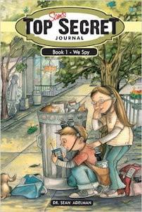 Featured Book: Sam's Top Secret Journal: We Spy by Sean Adelman